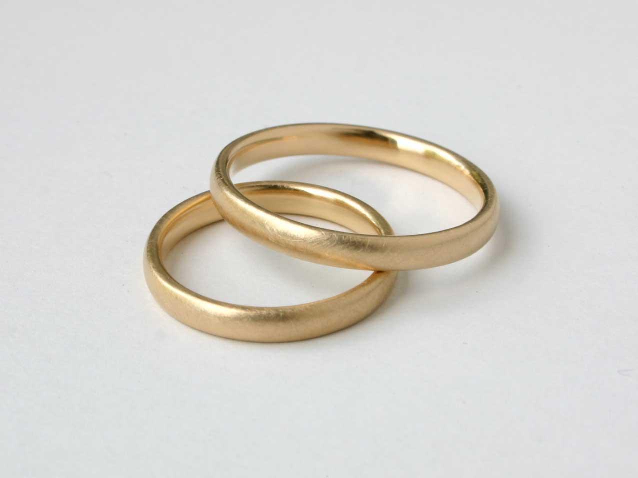 Ehering aus gold