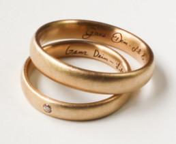 Ihre eigene Handschrift im Ring