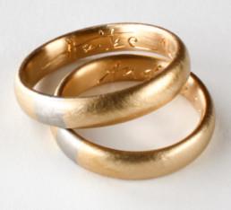 Gravurmuster für Eheringe aus öko-fairtrade Gold
