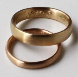 Gravursymbol für Trauringe aus öko-fairtrade Gold